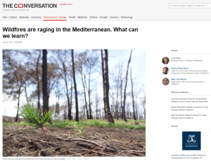 wildfires mediterranean the conversation